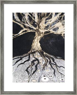 Growing Roots Framed Print by Tara Thelen