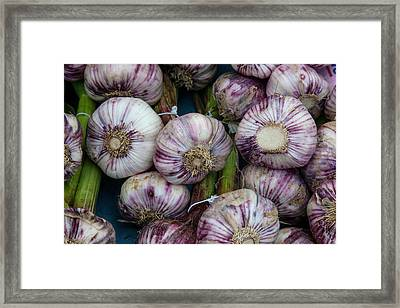 Grown Locally Near Bergerac, These Framed Print