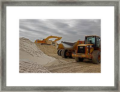 Grownup's Sandbox Framed Print by Tom Gari Gallery-Three-Photography