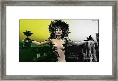Growth And Decay Framed Print by Sina Souza