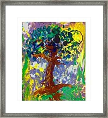 Growth Framed Print by Luz Elena Aponte
