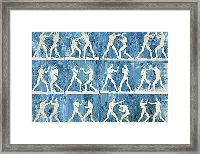 Grudge Match Framed Print