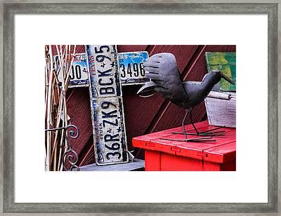 Gruene Texas Framed Print