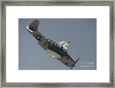 Grumman Tbf Avenger Framed Print by Hank Taylor