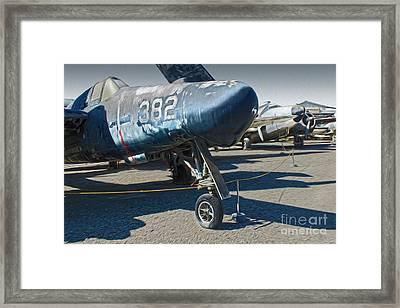 Grumman Tigercat F7f-3n  -  01 Framed Print by Gregory Dyer