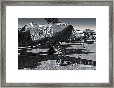 Grumman Tigercat F7f-3n  -  02 Framed Print by Gregory Dyer