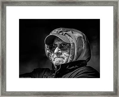 Grumphy Framed Print