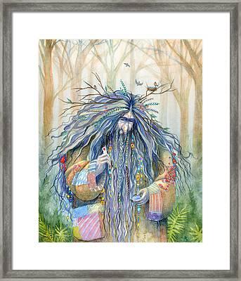 Grumpy Troll Framed Print