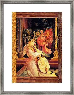 Grunewald Vintage Angels Framed Print