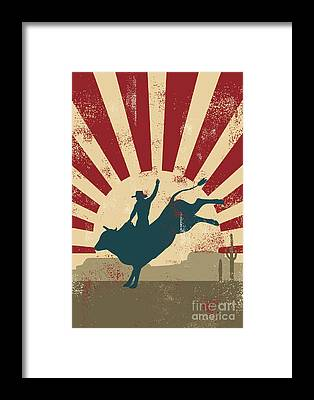 Designs Similar to Grunge Rodeo Poster,vector
