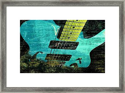 Grungy Axe Framed Print by Chris Berry