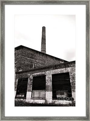 Grungy Grundy Framed Print by Olivier Le Queinec
