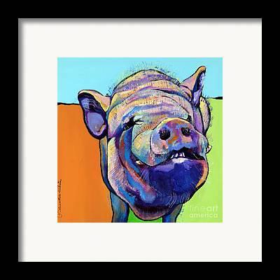 Pet Portraits Framed Prints