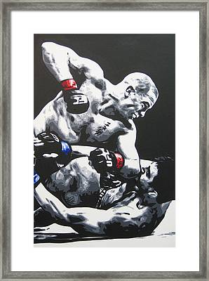 Gsp Ground N Pound Framed Print