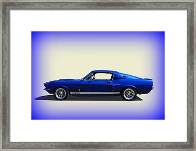 Framed Print featuring the photograph Gt350 Mustang by Keith Hawley