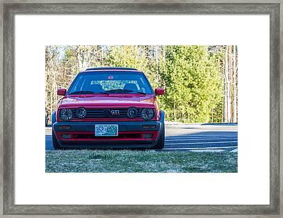 GTi Framed Print