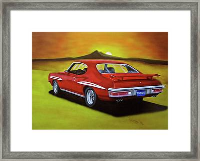 Gto 1971 Framed Print by Thomas J Herring