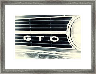 GTO Framed Print by Karol Livote