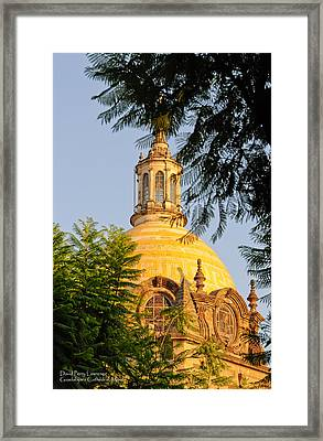 The Grand Cathedral Of Guadalajara, Mexico - By Travel Photographer David Perry Lawrence Framed Print by David Perry Lawrence