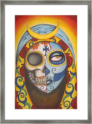 Guadalupe Framed Print by Shayne of the  Dead