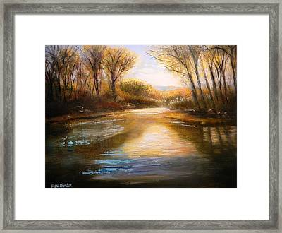 Guadalupe Sunrise Framed Print