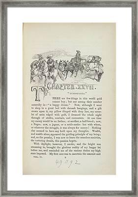 Guajaqualla Framed Print by British Library