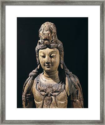Guan Yin. 10th C. - 13th C. Bodhisattva Framed Print by Everett