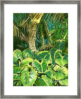 Guanabana Tropical Framed Print