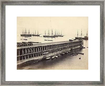 Guano Industry Framed Print