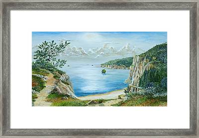 Guanto Ling   Beihai China Framed Print