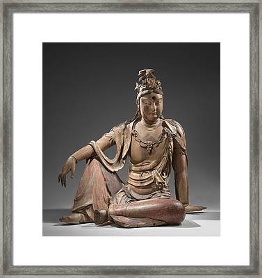 Guanyin, Anonymous Framed Print by Quint Lox