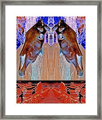 Guard My Sovereign Gate 2013 Framed Print by James Warren