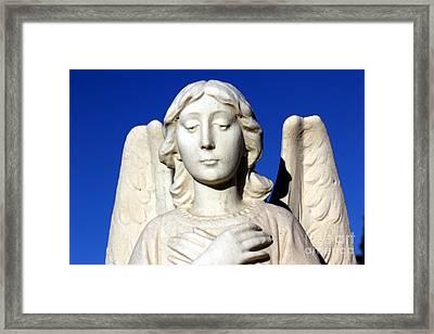 Guardian Angel 2 Framed Print by Sophie Vigneault