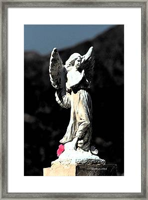 Framed Print featuring the photograph Guardian Angel by Dick Botkin
