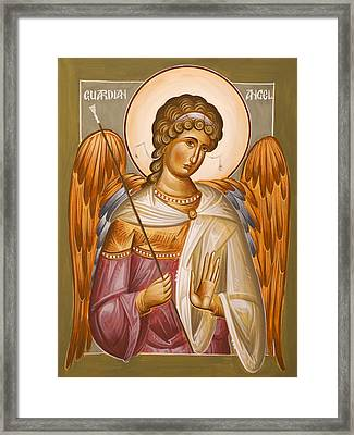 Guardian Angel Framed Print by Julia Bridget Hayes