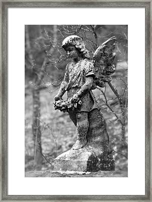 Guardian Angel  Framed Print by Karon Melillo DeVega