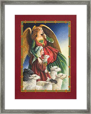 Guardian Angel Framed Print by Lynn Bywaters