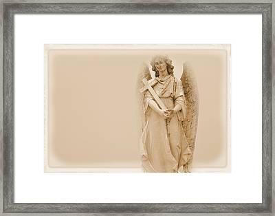 Guardian Angel Framed Print by Nadalyn Larsen