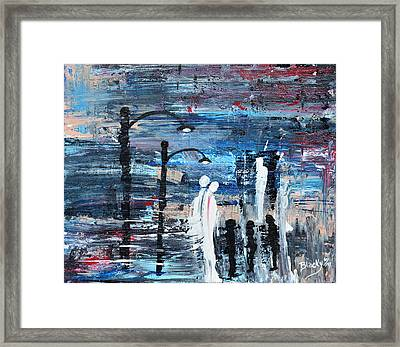 Guardian Angels Framed Print by Donna Blackhall