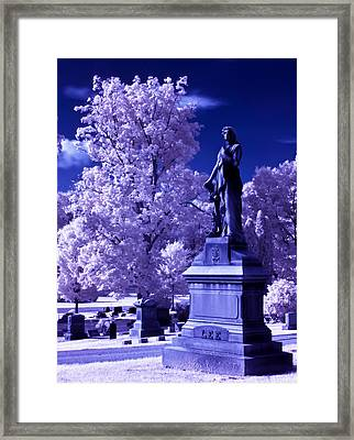 Framed Print featuring the photograph Guardian by David Stine