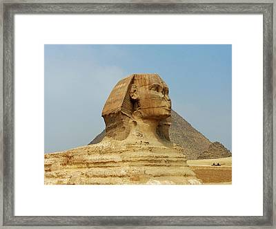 Framed Print featuring the photograph Guardian II by Anthony Baatz