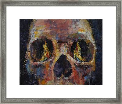 Guardian Framed Print by Michael Creese
