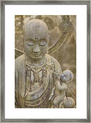 Guardian Of Children Framed Print by Karen Walzer