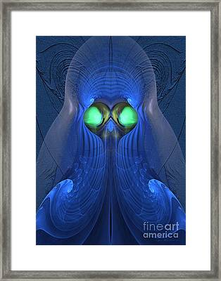 Guardian Of Souls - Surrealism Framed Print