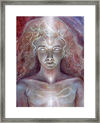 Guardian Of The Heart Framed Print by Vera Atlantia