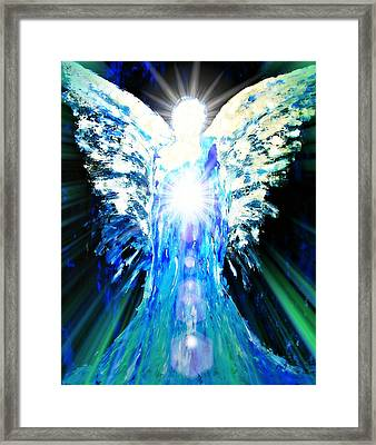 Guardian Of The Light Framed Print