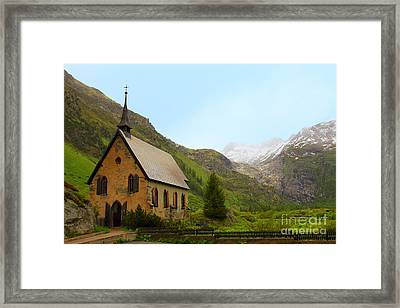 Guardian Of The Pass Framed Print