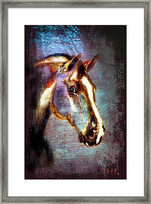 Guardian Of The Waters Framed Print