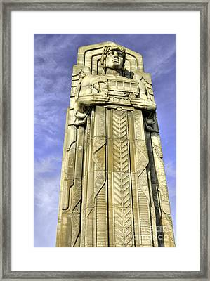 Guardian Of Traffic - 5 Framed Print