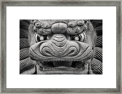 Guardian Framed Print by Rod McLean